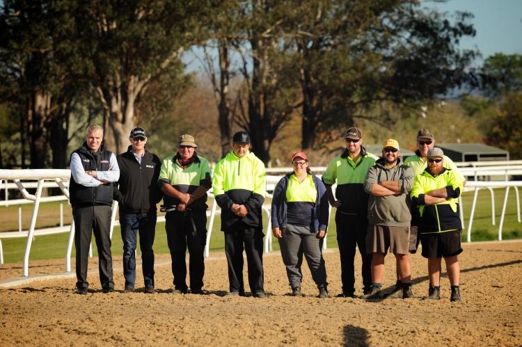 Otra exitosa pista de galope de entrenamiento de Martin Collins Polytrack recibe reconocimientos de la industria australiana de entrenamientos
